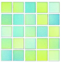 Meadow 25x25mm Lanscape Mosaic Tile | Topps Tiles