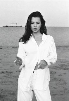 Kate Moss Kate, Beach Malibu Saatchi Art Artist Photography Martin Echamos1992 #KateMoss