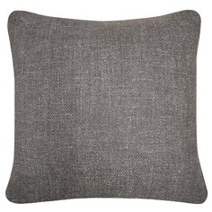 Anderson Charcoal Scatter Cushion (75 CAD) ❤ liked on Polyvore featuring home, home decor, throw pillows, decor, pillows and charcoal throw pillows