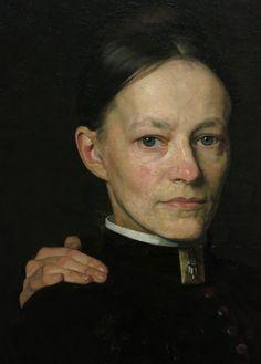 .:. Cornelia Veth, detail of Jan Veth painting of his three sisters in 1885