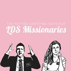 The Top 10 Christmas Gifts for LDS Missionaries   Includes links to great products and unique ideas you might not have thought of.