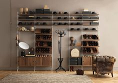 Shelving systems | Storage-Shelving | string system | string. Check it out on Architonic