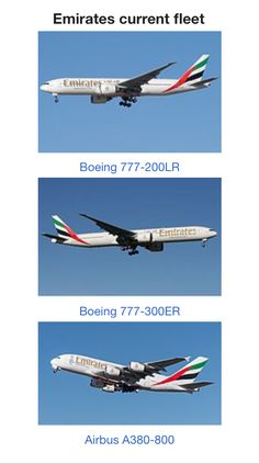 Emirates Fleet, Emirates Airline, Airbus A380, Airplanes, Aviation, Aircraft, Airplane, Planes, Plane
