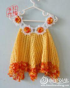 47 Fantastiche Immagini Su Abiti Alluncinetto Crochet Dresses