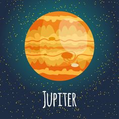 Ilustración planeta júpiter Solar System Activities, Solar System Crafts, Astronaut Illustration, Illustration Art, Jupiter Planeta, Earth Logo, Chemistry Art, Astronaut Party, English Projects