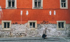 In the unofficial capital of Transylvania, Mihail Onaca wanders the streets to capture the Romanian city's magnificent windowframes and doorways Transylvania Romania, The Guardian, Wander, Around The Worlds, Windows, Doors, Word Map, Street, City