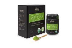 Viva Naturals Organic Matcha Green Tea Powder - Represents the true essence