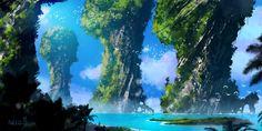 ArtStation - Sunny Islands, Dario Marzadori