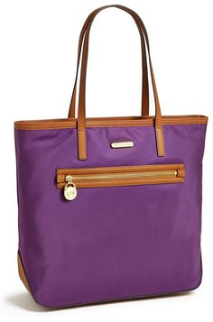Violet Leather Tote Bag by MICHAEL Michael Kors. Buy for $138 from Nordstrom