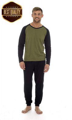 CityComfort Mens Pyjamas 100% Super Soft Cotton Men Pjs Set Pajamas for Man. 18edb61fe