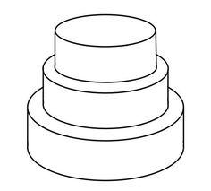 Cake Templates Cakepins Three Tier 3 Tiered Cakes