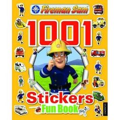 Fireman Sam 1001 Stickers Fun Book by Egmont Publishing UK, available at Book Depository with free delivery worldwide. Fireman Sam, Cool Stickers, Books To Buy, Online Gifts, Firefighter, Good Books, Have Fun, Stationery, Baseball Cards