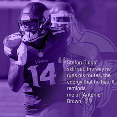 Minnesota Vikings WR Stefon Diggs' 7-reception, 129-yard performance in Week 6 had players and coaches alike singing his praises. Will he repeat this performance in the weeks to come? Only time will tell.