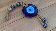 Evil eye Wall Hanging for house protection, house ornament Necklace Sizes, Bracelet Sizes, Greek Evil Eye, Evil Eye Jewelry, House Ornaments, Macrame Cord, Washer Necklace, Best Gifts, Glass
