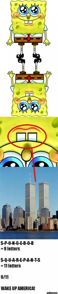 Spongebob 's ties to 9/11:
