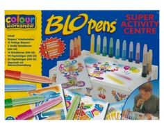 I thought these were the coolest things ever when I was little!  Lol #Blo Pens #90's Kid #Toys