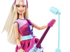 I got: Rock Star Barbie ! What Is Your Barbie Personality?