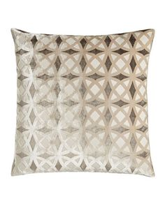 "H7HMT Andre Geometric Pillow, 22""Sq."