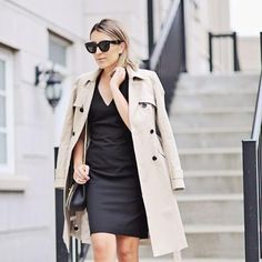We're turning an eye to the stylish women making our favorite looks all their own. Seen here, stylist @stephsterjovski takes our Classic Trench from day to night.  Welcome to #WellDressedWednesday. Because truly inspired style doesn't need a special occasion -- or a special day of the week. (Tag yourself with #WellDressedWednesday in your own favorite looks for a chance to be featured on our feed.) #liketkit @liketoknow.it www.liketk.it/01Du #AnnTaylor