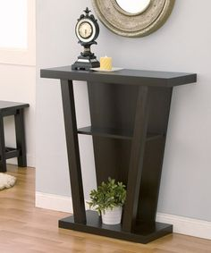 Another great find on #zulily! Cappuccino Mandie Console Table #zulilyfinds