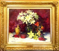 King's Gallery has this beautiful original signed oil on canvas painting by William J. Kalwick Jr.