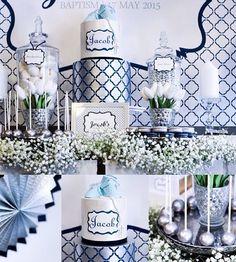 Dessert Table | Baptism | Cakes 2 Cupcakes