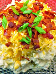 Loaded Baked Potato Salad...what happens when a baked potato meets potato salad! Darn Tasty!