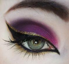 Todays Makeup! @Makeupbee @Lime Crime #Makeup #EOTD
