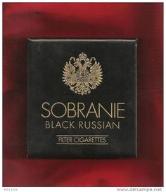 Sobranie Black Russian - Căutare Google Black Cigarettes, Cigarette Brands, Black Russian, Movie Magazine, Old Boxes, I Give Up, Mans World, Do You Remember, Vintage Advertisements