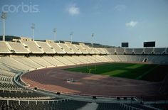 Olympic Stadium on Montjuic - ME008627 - Rights Managed - Stock Photo - Corbis