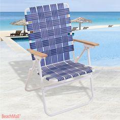 High Seat Web Lawn Beach Chair Beachmall Pos