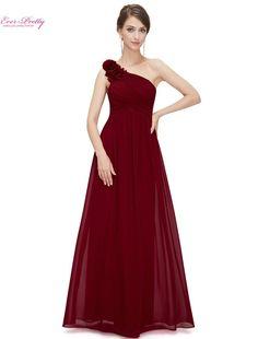 Demoiselle d honneur Robes Jamais Assez EP08237 Une Épaule Floral Rembourré  De Mariage Parti Enceinte a6fab2c106a