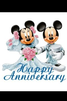 Happy Anniversary to the couple who has spent more time in Disney than any other I know! Mom and Dad, I couldn't ask for better parents. Happy Anniversary Clip Art, First Anniversary Pictures, Happy Anniversary Parents, Cute Anniversary Ideas, Anniversary Wishes Quotes, Happy Anniversary Wedding, Happy Aniversary, Anniversary Greetings, Anniversary Funny