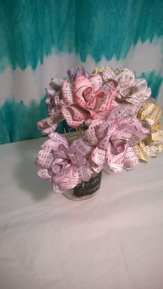 Pink and purple music note paper flowers music pinterest note pink and purple music note paper flowers music pinterest note paper mightylinksfo