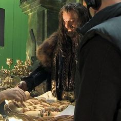 Richard serves the crew behind the scenes. Thorin Oakenshield, Vicar Of Dibley, Tauriel, Kili, Misty Eyes, Francis Dolarhyde, Concerning Hobbits, O Hobbit, Jrr Tolkien