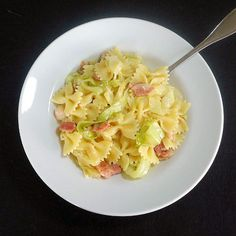 Haluski - Polish-Style Cabbage and Noodles with Bacon
