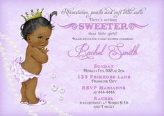 Hey, I found this really awesome Etsy listing at https://www.etsy.com/listing/215651103/african-american-baby-shower-invitation