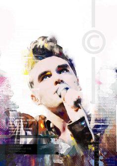 Beautiful!  Morrissey art by Armitagemodern.
