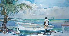Charles Reid - he paints great water.