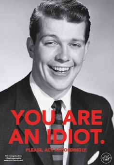 """You are an Idiot"" by Slavimir Stojanovic Futro"