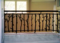 Wrought Iron Fences & Railings Tampa, Florida | Metals & Nature | FR-011-L