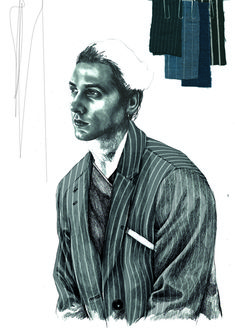2015 Westminster Fashion illustration – Lucy James