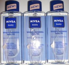 3 Nivea Body Smooth Sensation Body Oil Extra Dry Skin