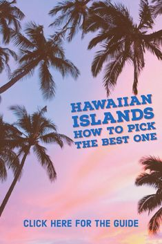 Visiting Hawaii is an awesome way to spend your honeymoon or family vacation. Worried that you don't have enough time to visit all of the major islands? Why not spend your time exploring just one. By spending time on a single island, you immerse yourself