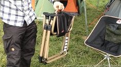 A great folding camping chair!