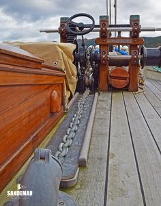 Bristol Channel Pilot Cutter 51ft William Stoba 1904/2010 - Sandeman Yacht Company Bristol Channel, Anchor Systems, Side Deck, Sink Units, Classic Yachts, Dinghy, Water Systems, Boats For Sale