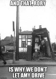 LOL! Tardis Crash