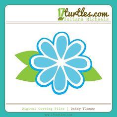 Juliana Michaels Daisy Flower Digital Cutting File
