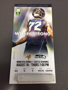 0d12b70c 69 Best Game Tickets images in 2019 | Game tickets, Season ticket ...