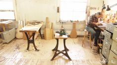 Local Winnipeg Luthier hand-crafting guitars for 30 years. 30 Years, Drafting Desk, Guitars, Dining Table, Crafting, How To Make, Life, Furniture, Home Decor